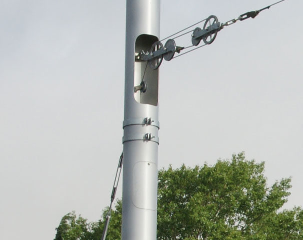 E001 stalen bovenleidingmasten PMF foto 3