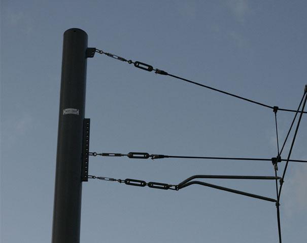 E003 stalen bovenleidingmasten PMF foto 3